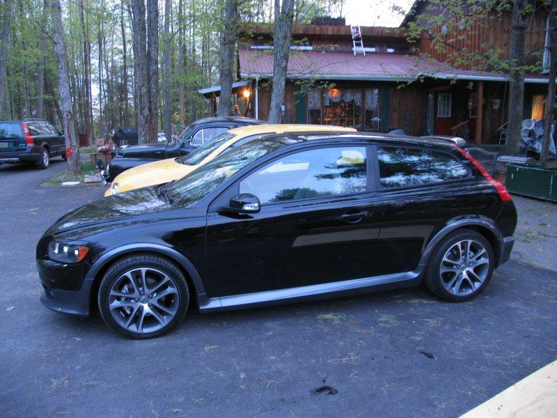 Volvo C30 T5 Black. Volvo C30 T5 019 Black Stone